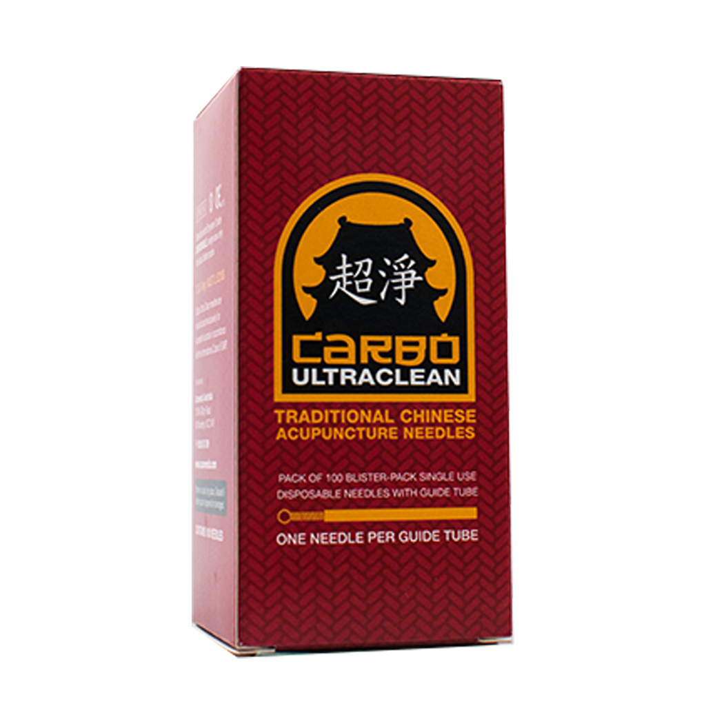 Carbo Acupuncture Needles with Guide Tube